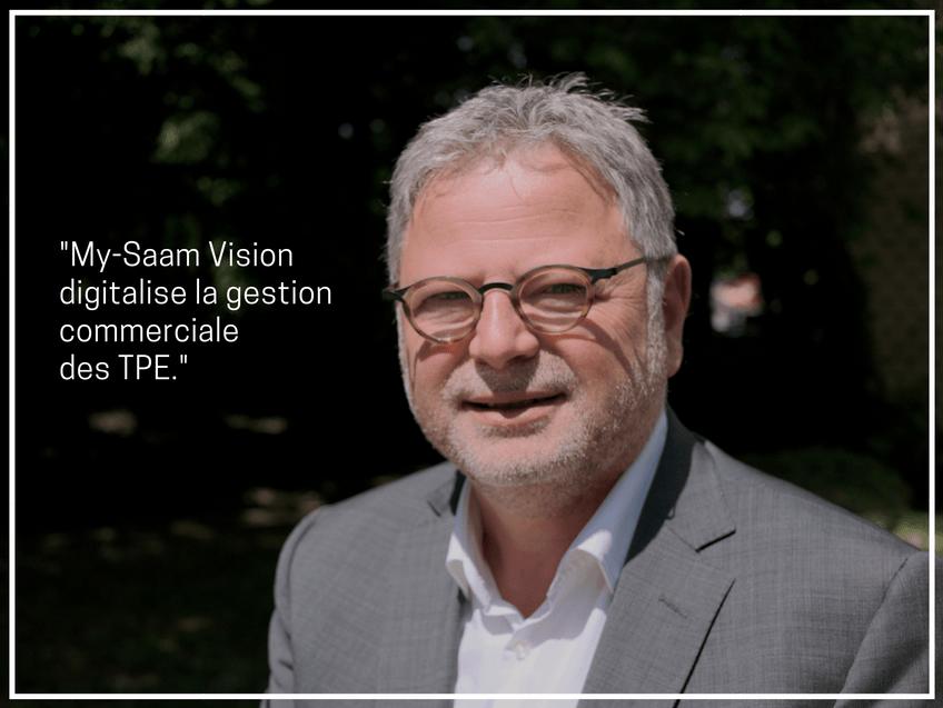 Interview de Serge Vitali, co-fondateur de l'outil de gestion commerciale pour TPE