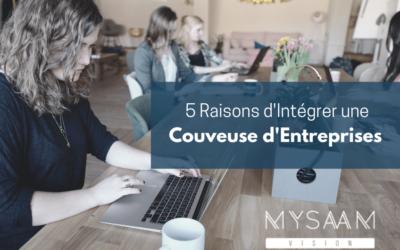 5 Raisons d'intégrer une Couveuse d'Entreprises